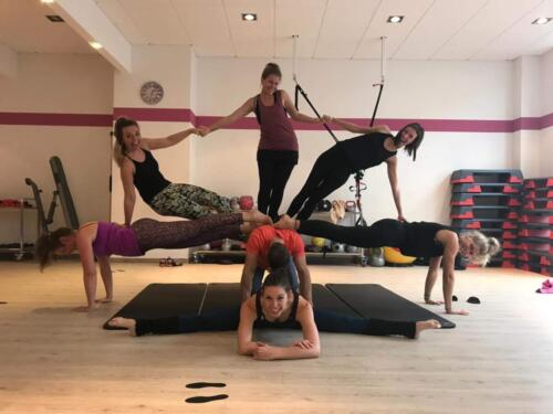 Acro Yoga Indoor